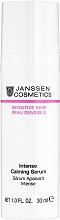 Духи, Парфюмерия, косметика Успокаивающая сыворотка интенсивного действия - Janssen Cosmetics Sensitive Skin Intense Calming Serum