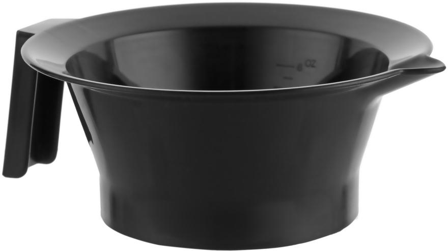 Мисочка для окрашивания волос с ручкой, черная - Tico Professional