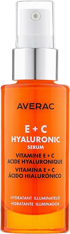 Освежающая гиалуроновая сыворотка с витаминами E + C - Averac Focus Hyaluronic Serum With Vitamins E + C