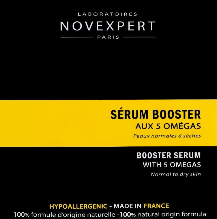 Сыворотка-бустер для лица - Novexpert Omegas Booster Serum (пробник)