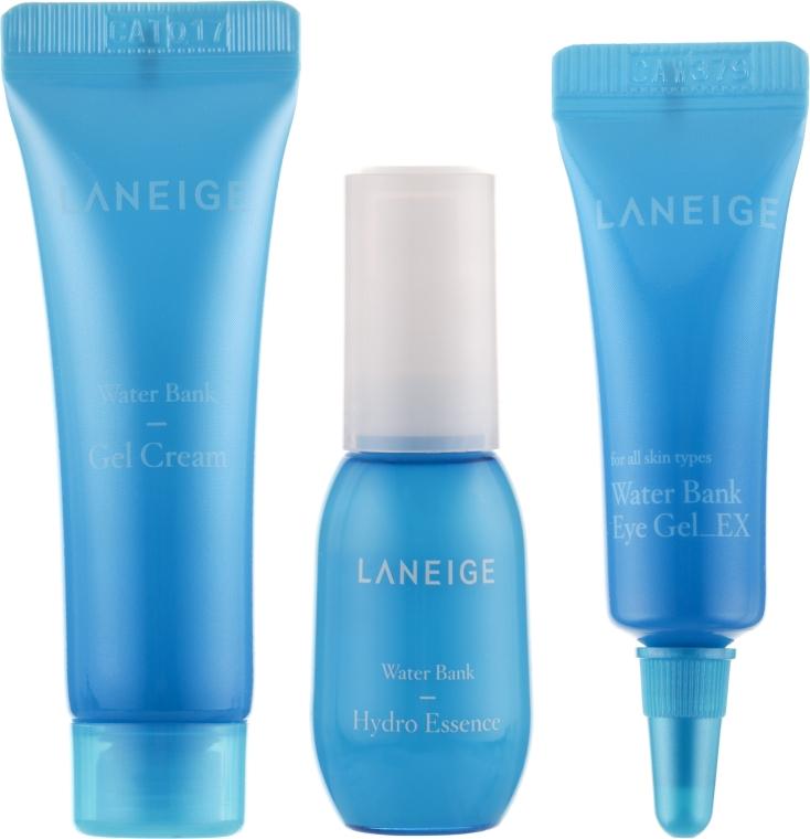 Набор мини версий увлажняющий - Laneige Water Bank Hydro Kit (essence/10ml+cr/10ml+eye/gel/3ml)