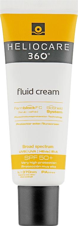 Солнцезащитный крем-флюид для всех типов кожи - Cantabria Labs Heliocare 360º Fluid Cream SPF 50+ Sunscreen