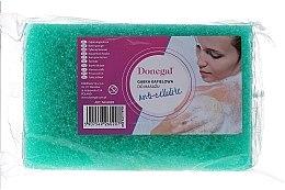 Духи, Парфюмерия, косметика Мочалка для мытья массажная 6020, зеленая - Donegal Cellulose Sponge