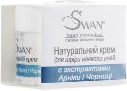 Крем для кожи вокруг глаз с экстрактами Арники и Черники - Swan Face Cream — фото N2