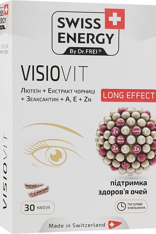 """Витамины в капсулах """"Поддержание здоровья глаз"""" - Swiss Energy Visiovit"""