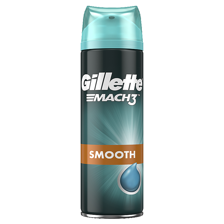 "Гель для бритья ""Close and Smooth"" - Gillette Mach3"