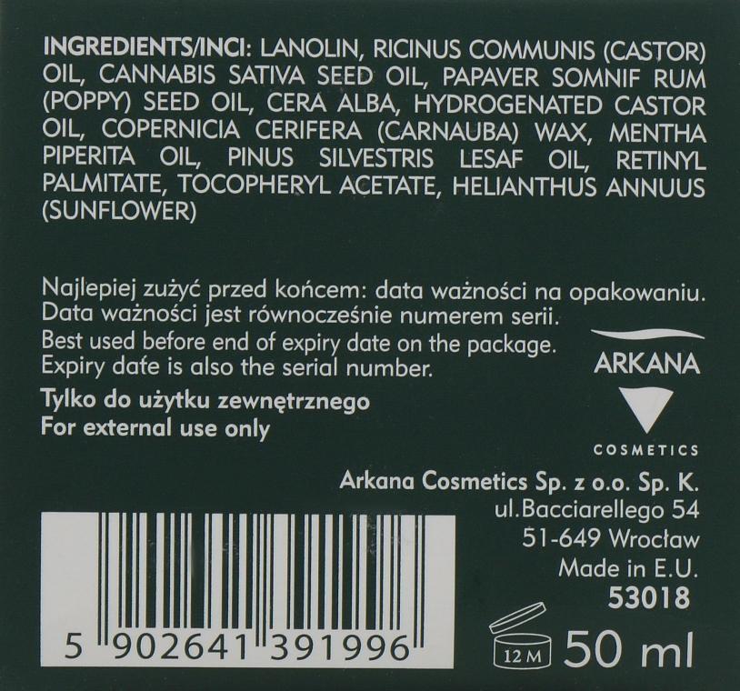 Мазь для гоєння дуже сухої шкіри - Arkana Cannabis Repair Ointment — фото N3