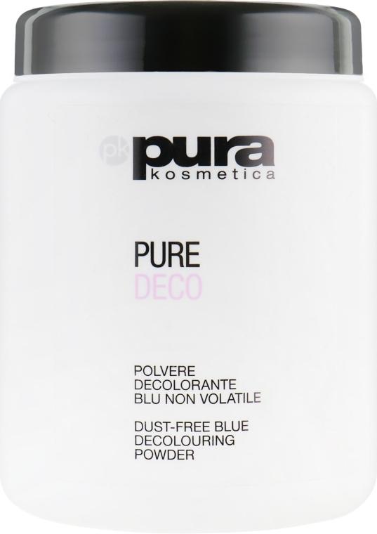Порошок для волос осветляющий, синий - Pura Kosmetica Pure Deco Blue