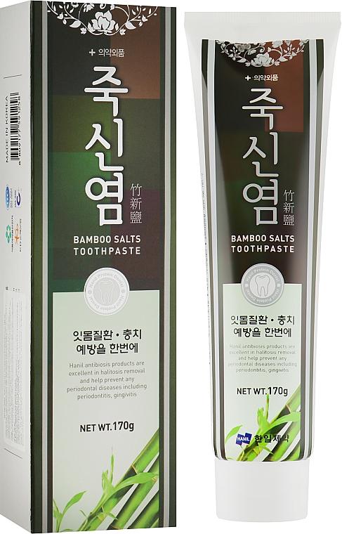 Зубная паста - Hanil Bamboo Salts Toothpaste