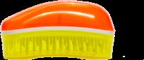 Духи, Парфюмерия, косметика Щетка для волос Mini Summer Orange-Yellow - Dessata Mini Summer Orange-Yellow