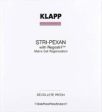 Духи, Парфюмерия, косметика Маска-патч для зоны декольте - Klapp Stri-Pexan Decollete Patch