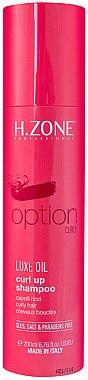 Шампунь для кудрявых волос - H.Zone Option Curl Up Shampoo