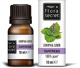 Духи, Парфюмерия, косметика Эфирное масло пачулиевое - Flora Secret