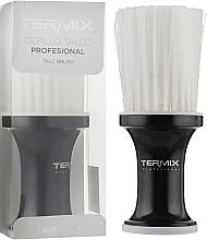 Духи, Парфюмерия, косметика Сметка черная, с белой щетиной, P-002-2001 - Termix Professional Black Neck Brush White Fibers