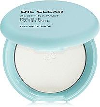 Духи, Парфюмерия, косметика Бесцветная компактная пудра для лица для жирной кожи - The Face Shop Oil Clear Blotting Pact