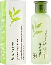 Духи, Парфюмерия, косметика Тонер для лица с экстрактом зеленого чая - Innisfree Green Tea Fresh Skin