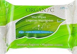 Духи, Парфюмерия, косметика Влажные салфетки для интимной гигиены - Corman Organyc Intimate Hygiene Wet Wipes