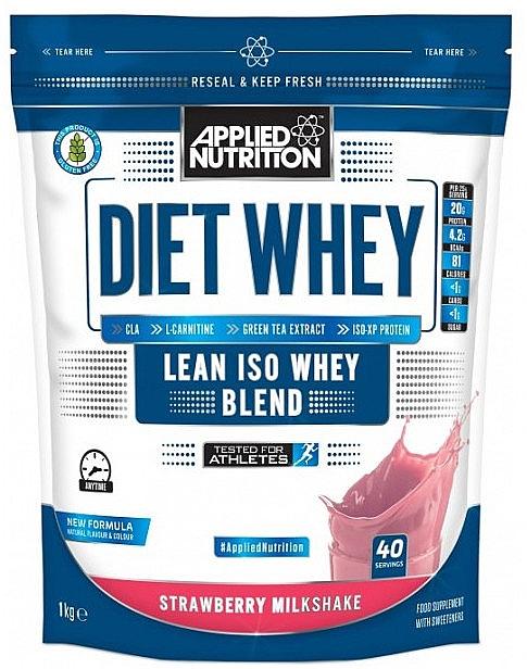 "Сывороточный протеин ""Клубничный молочный коктейль"" - Applied Nutrition Diet Whey Strawberry Milkshake"