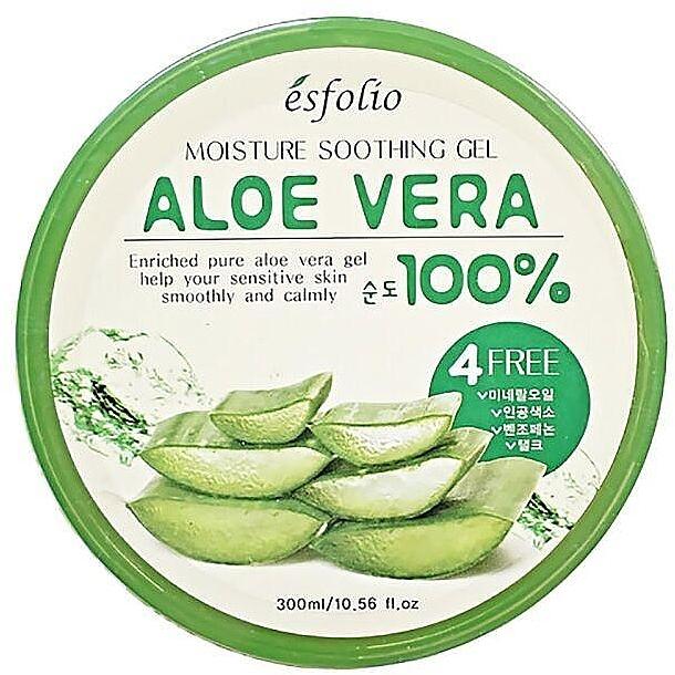 Увлажняющий гель с алоэ - Esfolio Moisture Soothing Gel Aloe Vera 100% Purity