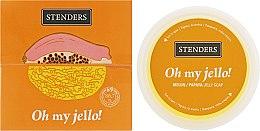 "Желейное мыло для душа из дыни с папайей ""Прикоснись к солнцу"" - Stenders Melon/Papaya Jelly Soap Oh my Jello — фото N1"