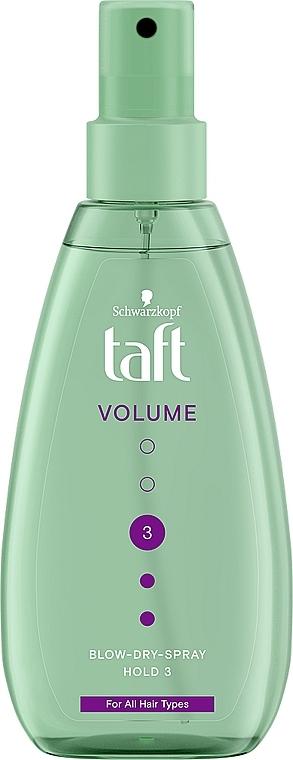"""Спрей-жидкость для укладки """"Объем"""", фиксация 3 - Taft True Volume 3"""