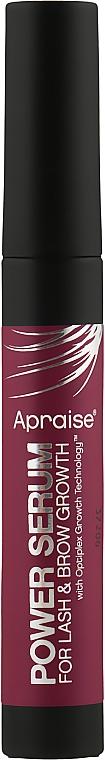 Пептидный филлер для роста бровей и ресниц - Apraise Power Serum For Lash & Brow Growth