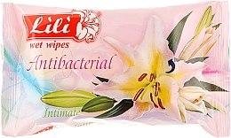 Духи, Парфюмерия, косметика Влажные салфетки для интимной гигиены, 20шт - Lili Intimate Wet Wipes
