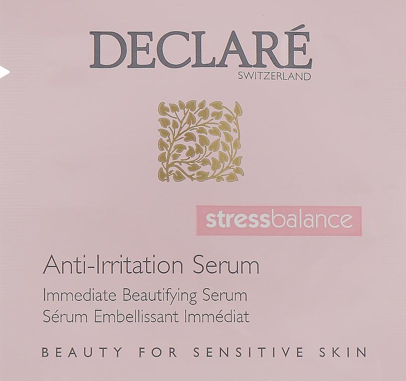 Сыворотка для чувствительной и раздраженной кожи - Declare StressBalance Anti-Irritation Serum (пробник)