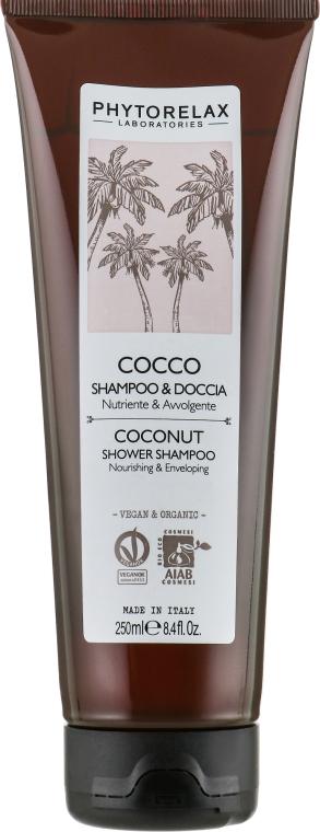 Шампунь-гель для душа 2 в 1 - Phytorelax Laboratories Coconut Shower Shampoo