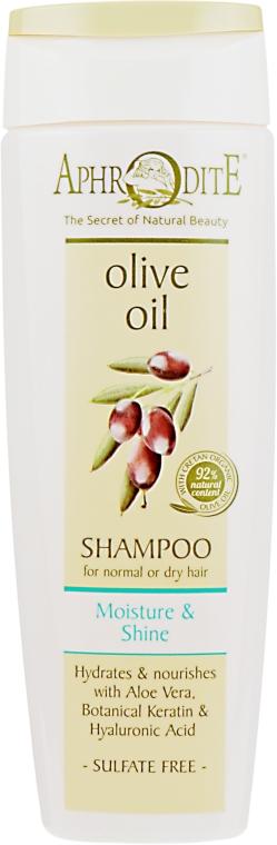 """Шампунь для волос """"Увлажнение и блеск"""" - Aphrodite Moisture & Shine Shampoo"""