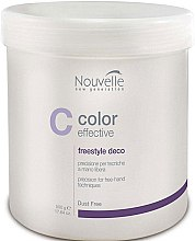 Духи, Парфюмерия, косметика Осветляющее средство для волос - Nouvelle Color Effective Freestyle Deco