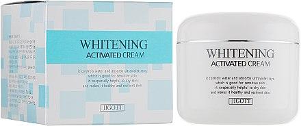 Осветляющий крем для лица - Jigott Whitening Activated Cream