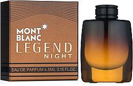Духи, Парфюмерия, косметика Montblanc Legend Night - Парфюмированная вода (миниатюра)