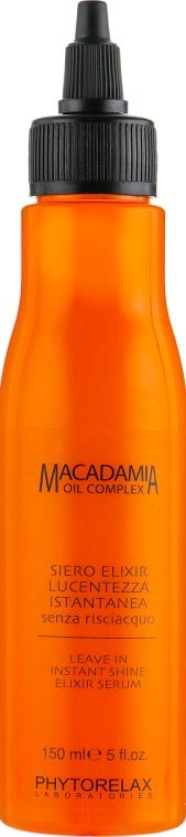 "Сыворотка ""Эликсир для блеска волос"" - Phytorelax Laboratories Macadamia Oil Complex Serum"