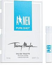 Mugler A*Men Pure Shot - Туалетная вода (пробник) — фото N1