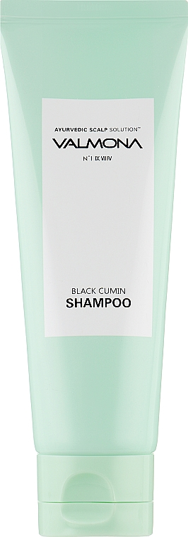 Шампунь для волос с комплексом из целебных трав - Valmona Ayurvedic Scalp Solution Black Cumin Shampoo