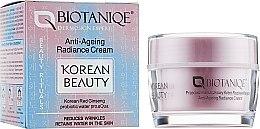 Духи, Парфюмерия, косметика Крем против морщин с красным женьшенем - Maurisse Biotaniqe Korean Beauty Anti-Ageing Radiance Cream