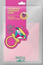 Духи, Парфюмерия, косметика Осветляющая тканевая маска - Patch Holic Colorpick Luminous Mask