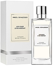 Духи, Парфюмерия, косметика Angel Schlesser Les Eaux d'un Instant Intimate White Flowers - Туалетная вода