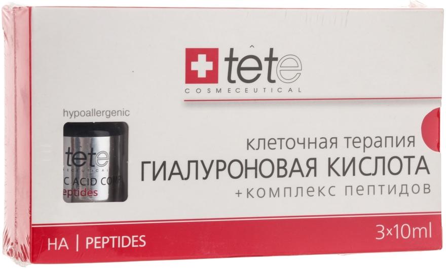 """Сыворотка """"Гиалуроновая кислота + Комплекс пептидов"""" - TETe Cosmeceutical Hyaluronic Acid"""