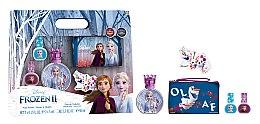 Духи, Парфюмерия, косметика Disney Frozen II - Набор (edt/50ml + nail/polish/2x5ml + bag)