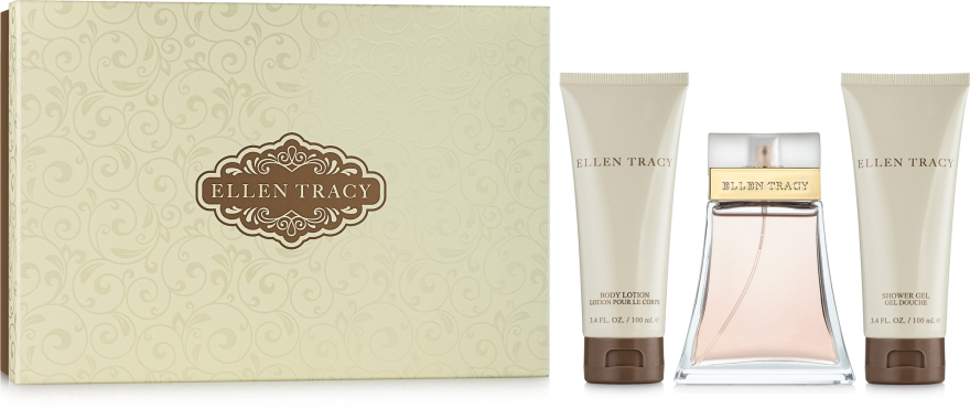 Ellen Tracy Tracy - Набор (edp 100ml+b/lot 100ml+sh/gel 100ml)