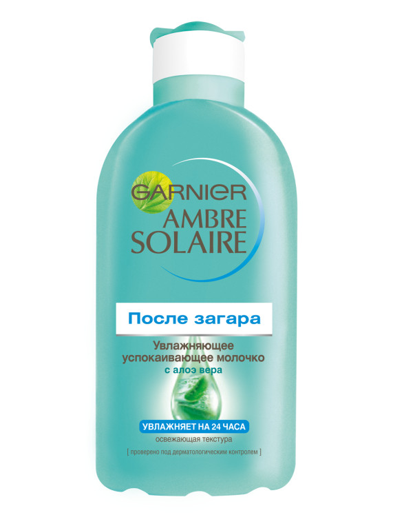 Зволожуюче молочко після засмаги - Garnier Ambre Solaire — фото N1