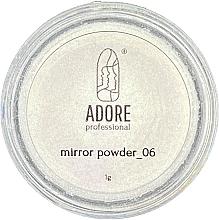 Духи, Парфюмерия, косметика Зеркальная пудра для ногтей - Adore Professional Mirror Chrome Powder