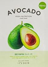 Духи, Парфюмерия, косметика Тканевая маска - It's Skin The Fresh Avocado Mask Sheet