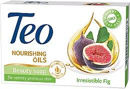 Духи, Парфюмерия, косметика Туалетное мыло - Teo Nourishing Oils Irresistible Fig