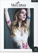 Духи, Парфюмерия, косметика Цветные переводные тату - Miami Tattoos Origami