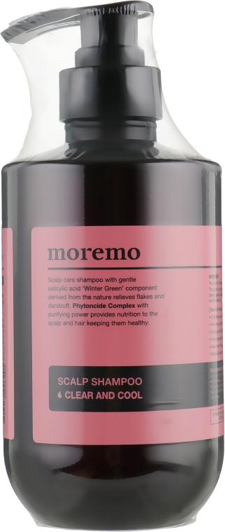 Очищающий шампунь - Moremo Scalp Shampoo Clear And Cool