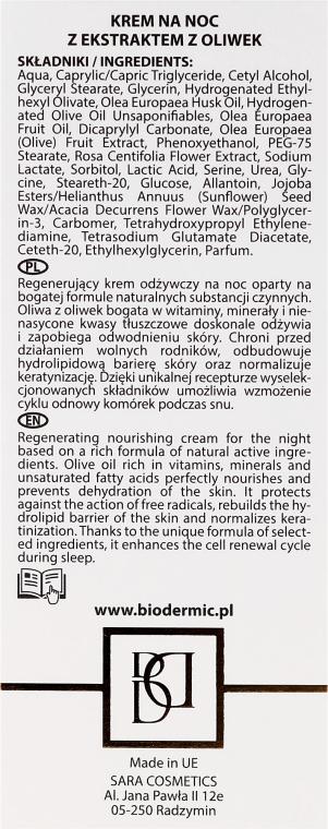 Крем для лица ночной - BioDermic Olive Extract Night Cream — фото N3