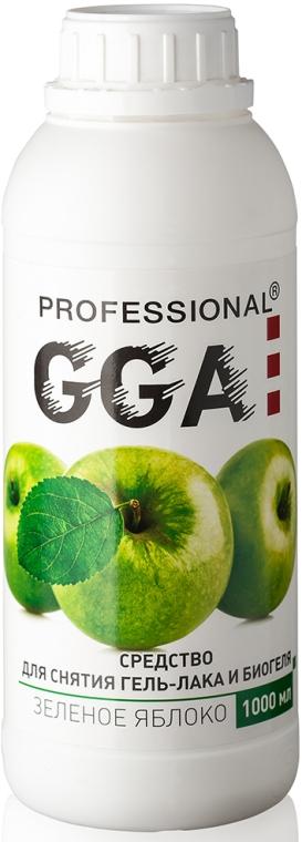 """Средство для снятия гель лака """"Яблоко"""" - GGA Professional"""